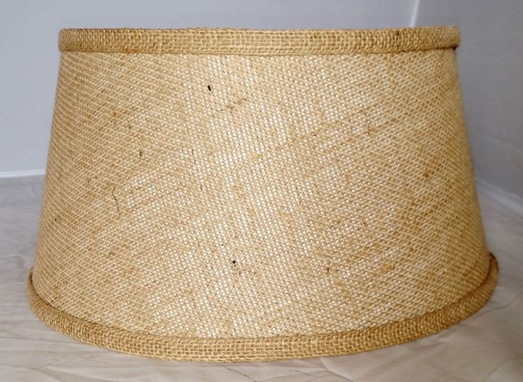 71 best usa american made lamp shades images on pinterest lamp brown burlap bouillotte lamp shade 14w aloadofball Choice Image
