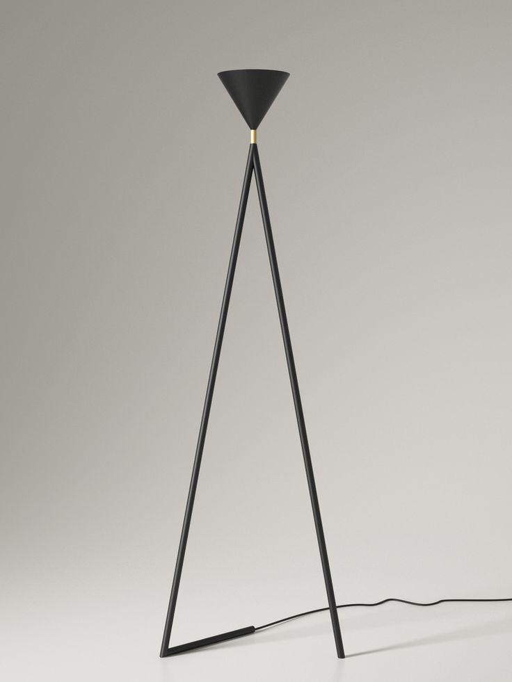 One cone floor lamp atelier areti
