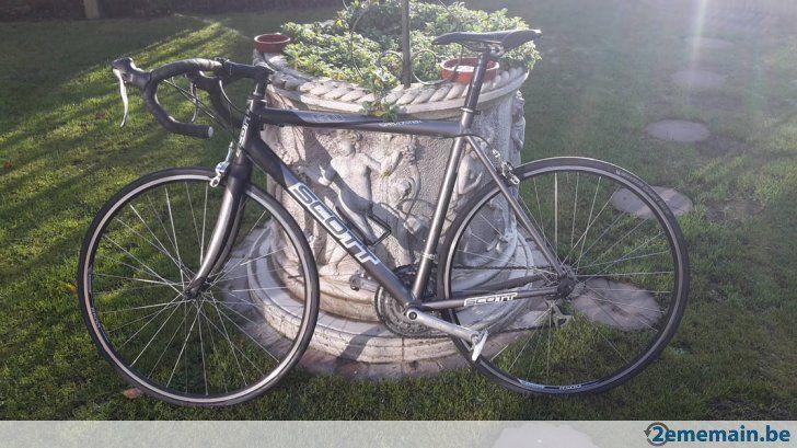Vélo gris SCOTT Speedster 60 - 24 vitesses - bien entretenu - A vendre