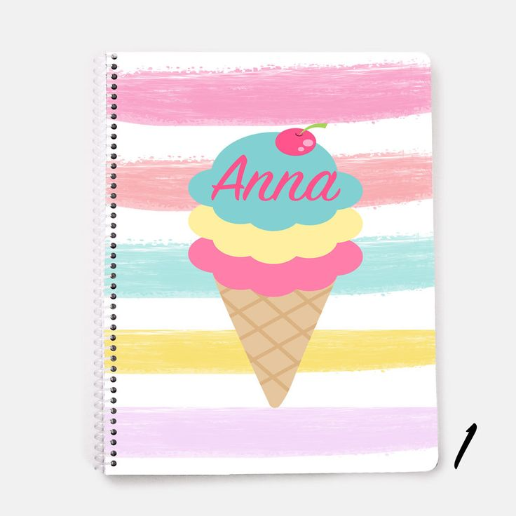 Personalized Notebook, Flamingo Notebook, Ice cream Notebook, Spiral Notebook, Personalized Journal, Bicycle Notebook, Pineapple Notebook, by JolieJomelieDesigns on Etsy https://www.etsy.com/listing/533202419/personalized-notebook-flamingo-notebook