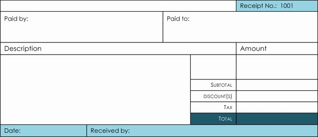 Free Cash Receipt Template Best Of 6 Samples Of Cash Receipt Template For Excel And Word Receipt Template Invoice Template Word Free Receipt Template