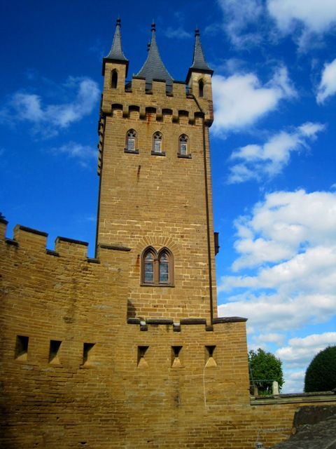 Burg Hohenzollern Is A Castle Located South Of Stuttgart Germany It Is The Ancestral Seat Of The Hohenzollern Family Whic Hohenzollern Castle Castle Germany