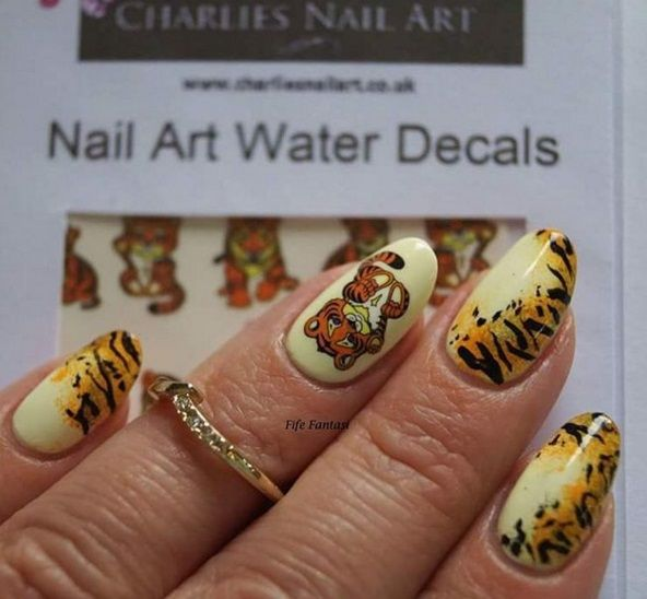 25+ Best Ideas about Tiger Nails on Pinterest | Tiger nail art ...