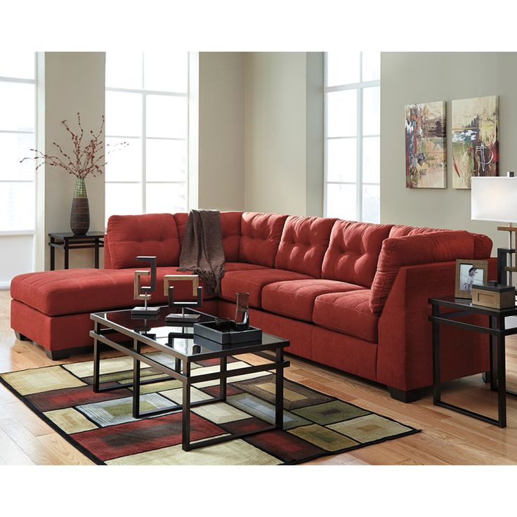 Best Benchcraft Maier Sectional With Left Side Facing Chaise In 400 x 300
