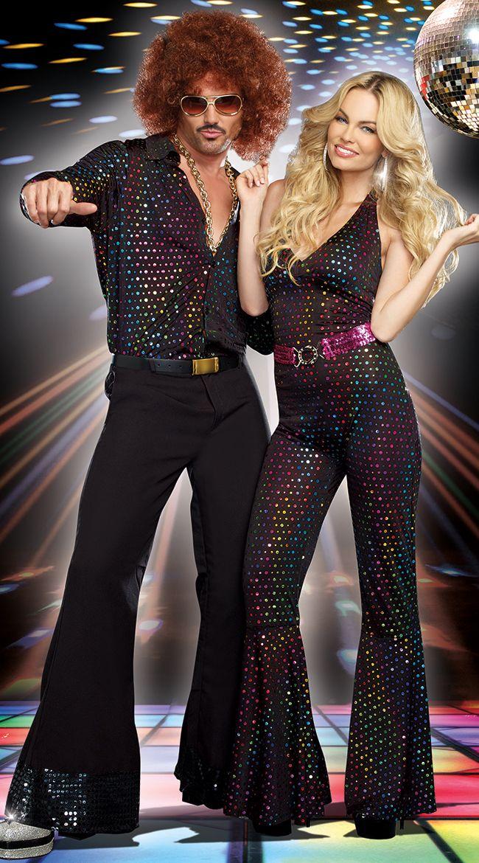 mens disco stud costume - Mens Couple Halloween Costumes