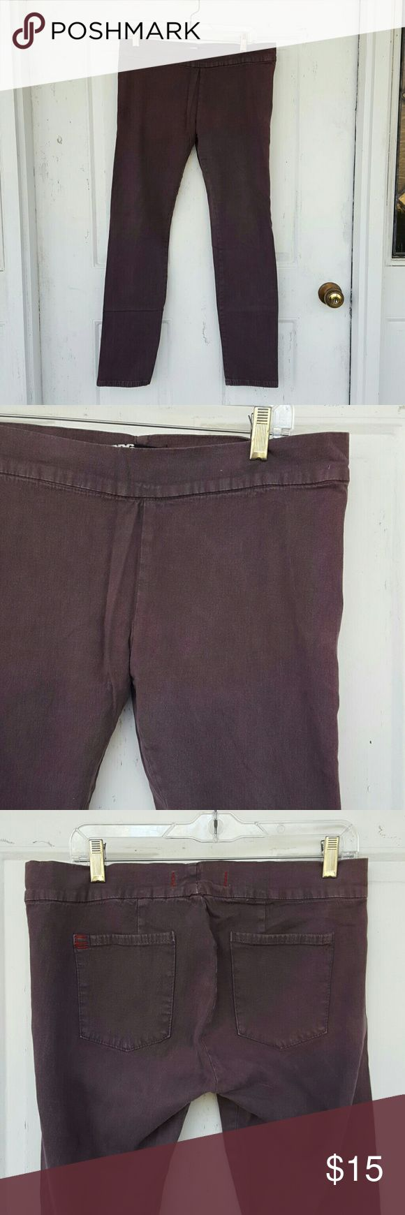 Urban Outfitters Jeggings Gently worn BDG Jeggings from Urban Outfitters.  Color is slightly purple.  Cotton/spandex blend. Urban Outfitters Pants Leggings