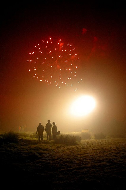 Starburst, Bonfire Night, Lewes