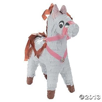 White Horse Piñata