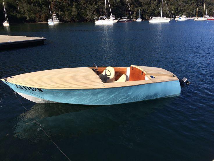 Donzi 16 Replica Wooden Boat