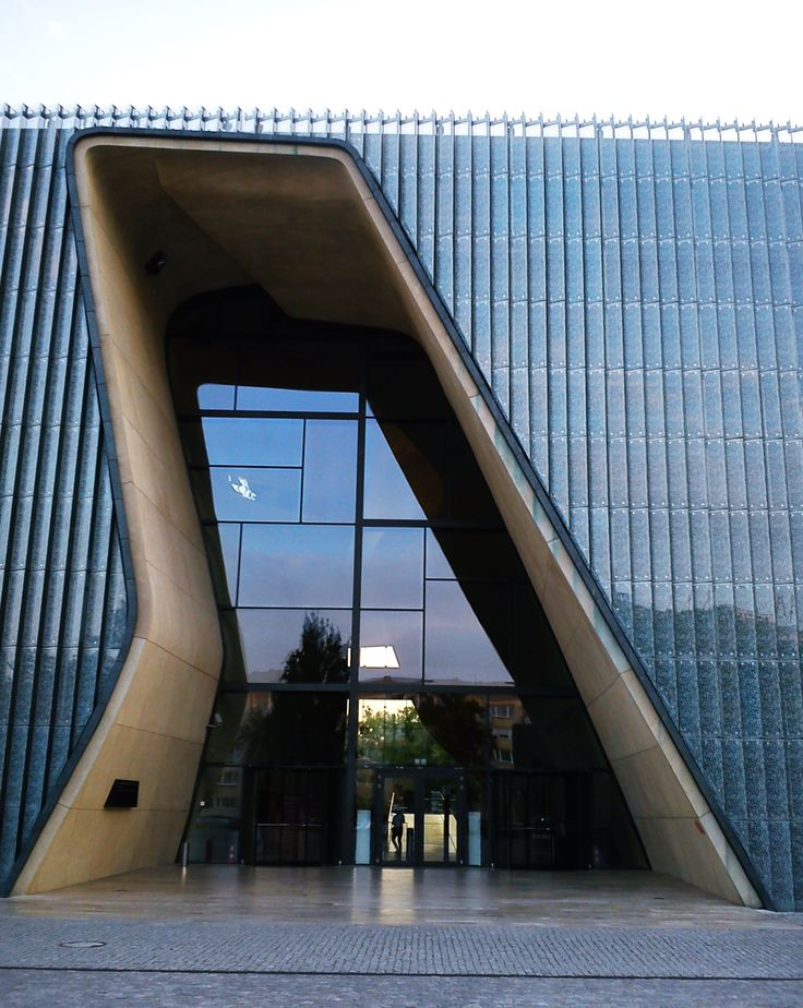POLIN - Museum of the History of Polish Jews, Warsaw, Poland, by Lahdelma & Mahlamäki Architects