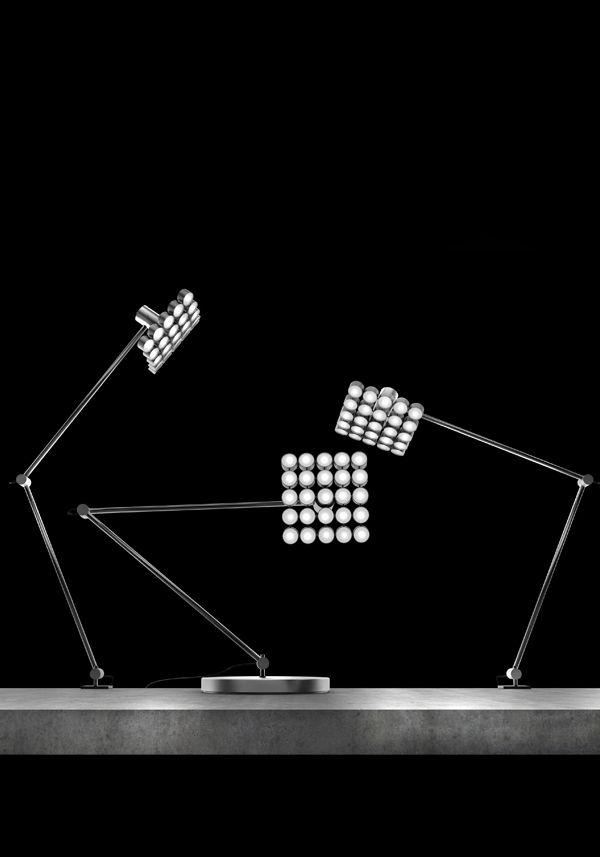 Projector LED table lamp - Michael Samoriz