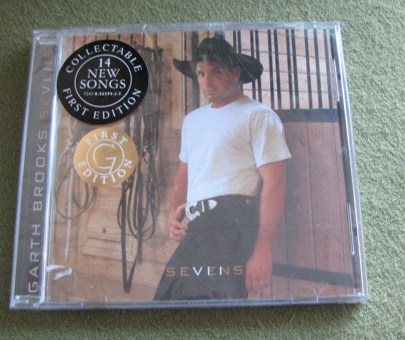 Garth Brooks Sevens CD Unsealed First Edition by LazyYVintage