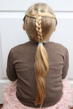 Einfache und süße Frisuren für Mädchen – perfekte 5-Minuten-Dosierung für Schultage #Easyhai …   – Hairstyles For Women