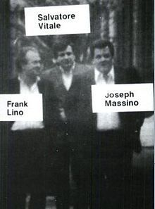 Joseph Massino, Salvatore Vitale and Frank Lino (surveillance photo, 1986).jpg