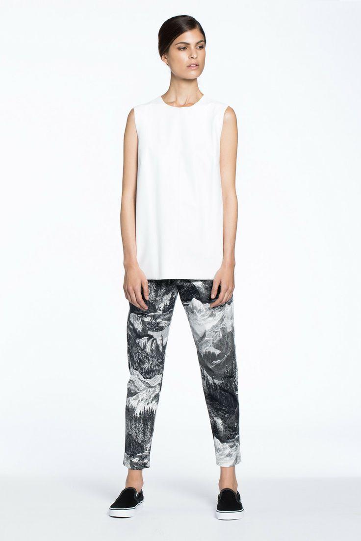 Camper Slim Pant Etching Print $289.00 AUD