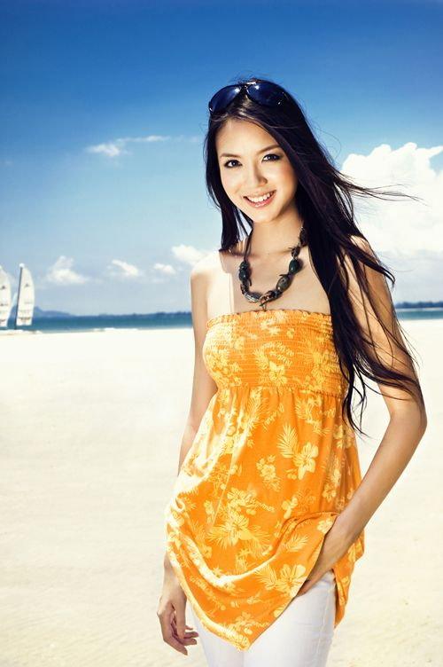 Zhang Zilin (China), Miss World 2007. picture gallery / 张梓琳 / 張梓琳