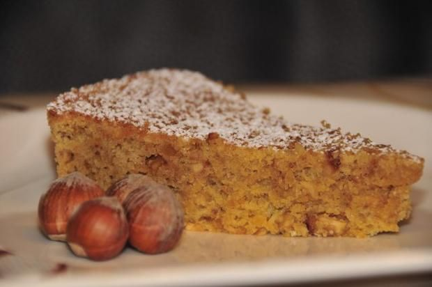 Rezept: Torta di nocciole / Piemonteser Nusstorte