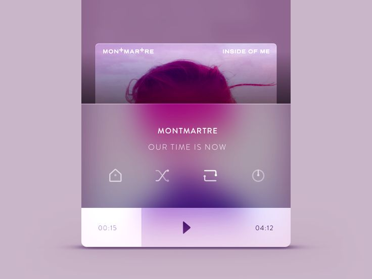 I've decided to remove the main player screen and create a miniplayer, always accesible. Here a screenshot when user swipe up to see details. Subscribe to download the app very soon