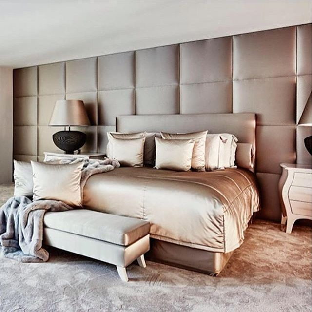 23 decorating tricks for your bedroom - Luxurious Bed Designs