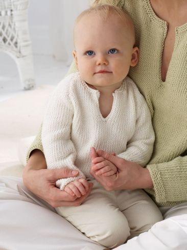 baby 39 s pullover yarn free knitting patterns crochet. Black Bedroom Furniture Sets. Home Design Ideas