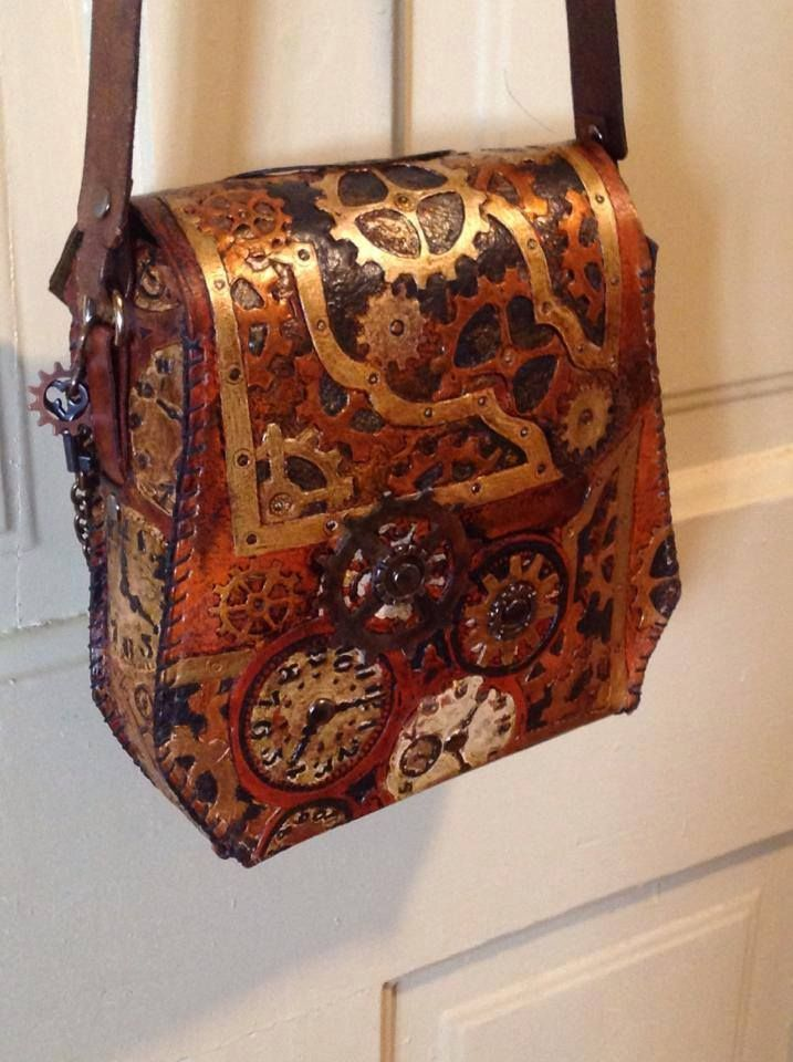 Steampunk Tendencies | Steampunk Hand Bag by Amy Lamphere