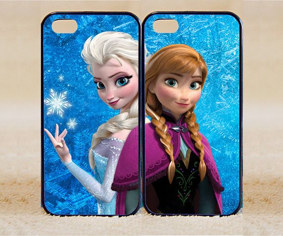 iPhone 5s Case iPhone 5c case iPhone 5 case, iPhone 4 Cases iPhone 4s Cases,Samsung Galaxy S3,S4,elsa and anna frozen,Phone Case,Couple Csae...