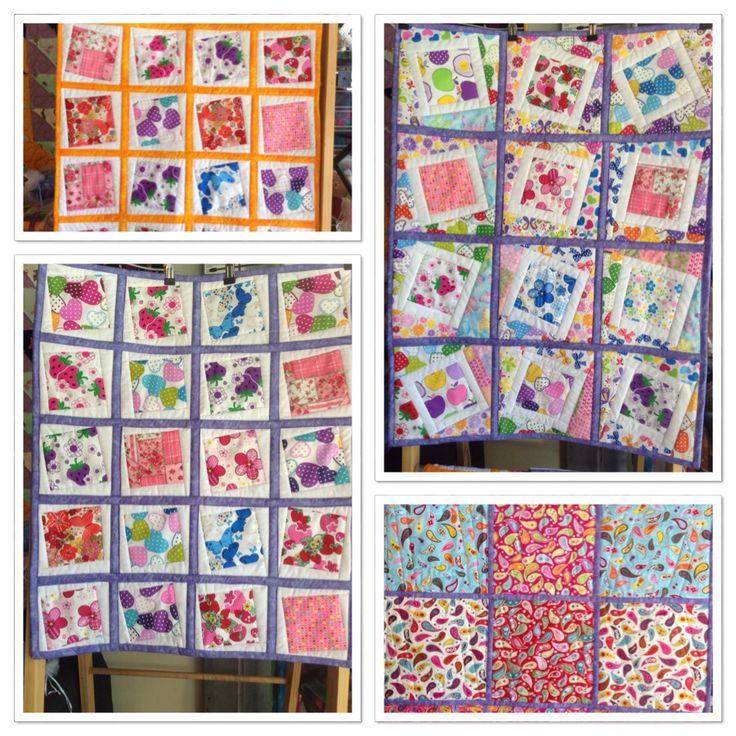 """How adorable are these little quilts - """"Window Frame"""" is there name in 2 sizes 27""""x35"""" $70 and 23.5""""x29"""" $60 - fully reversable and machine washable - available today at @eumundisquaremarket coming to website soon - these will not last long they are so cute ☺️www.byndees-precuts.com #eumundisquaremarkets #iloveeumundimarkets #handmadequilts #foodnetcover #visitnoosa #brightquilt #jellyrolls #sunshinecoast #handmade #handmadeonsunshinecoast #fabric #patchwork #quilting #owlquilt #newbornquilt…"""