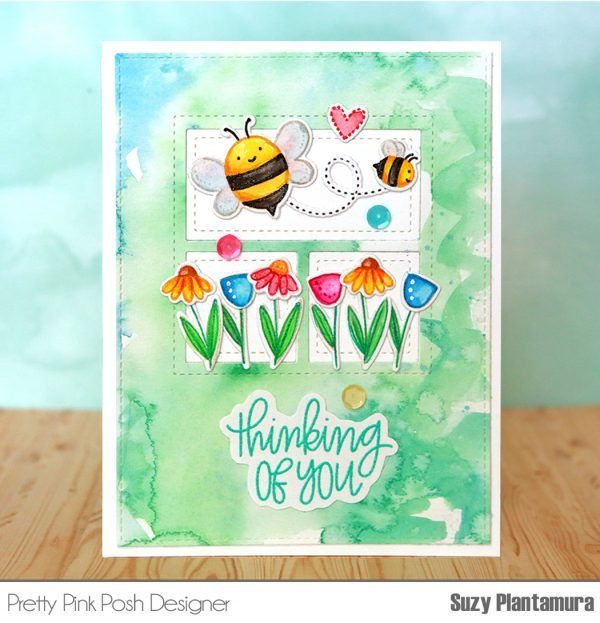 Pretty Pink Posh: The Daily Marker 30 Day Coloring Challenge Blog Hop