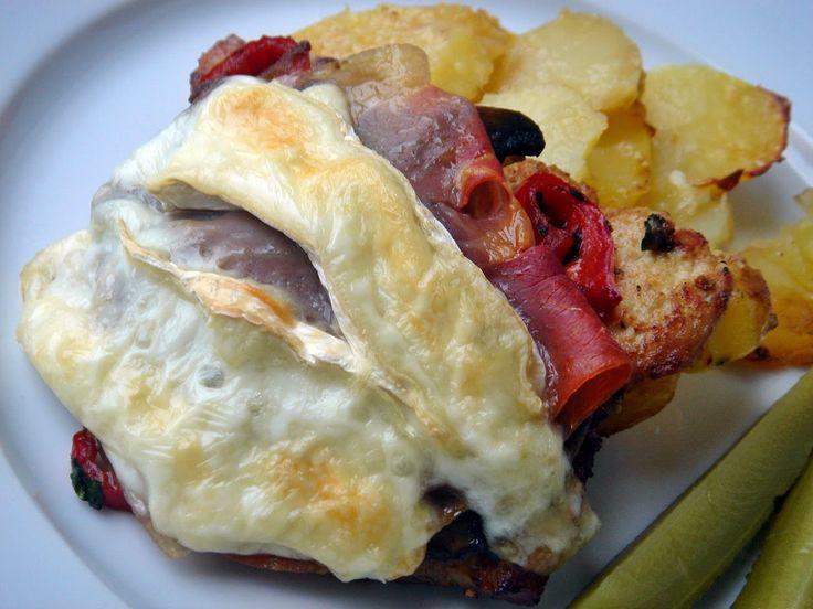 Nem vagyok mesterszakács: Dijoni rakott karaj gruyére sajtos –vajas krumpliá...