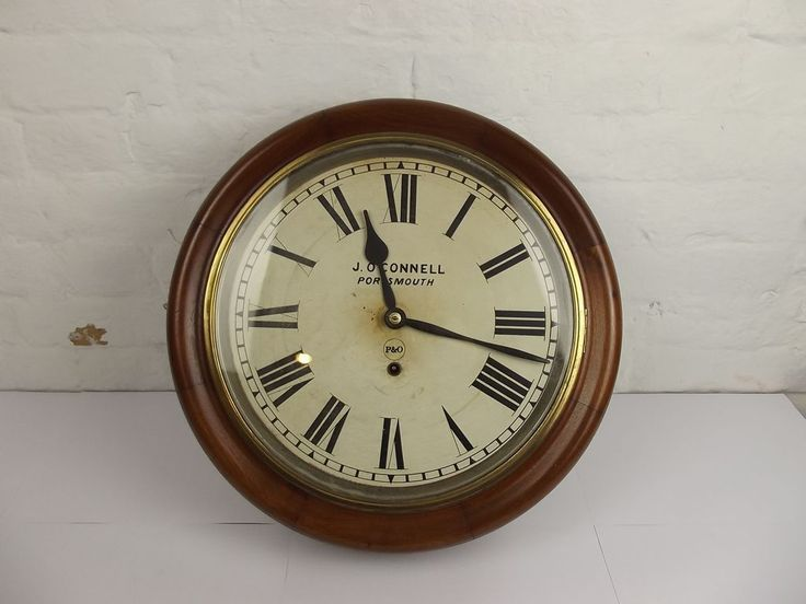 17 Best Images About Vintage Wall Clocks On Pinterest