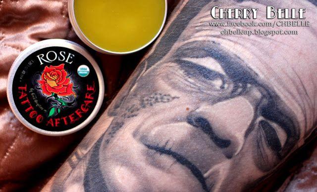 Cherry Belle Makeup & Beauty: Alteya Organics – Organiczna maść do pielęgnacji tatuażu – Różana, naturalna pielęgnacja tatuażu :)