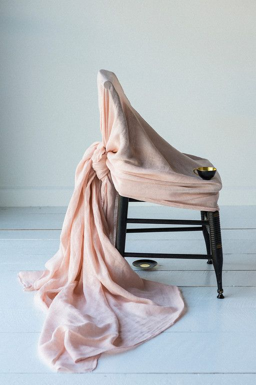 Linen Whisper yardage in Perfect Peach - does it get any more gorgeous than this colour in linen?