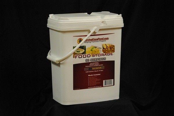 Long Term Food Storage survival food by SurvivalCaveFood 90 Servings