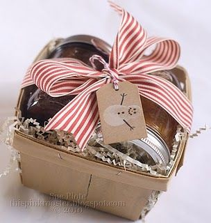 Gifting homemade preserves!!!