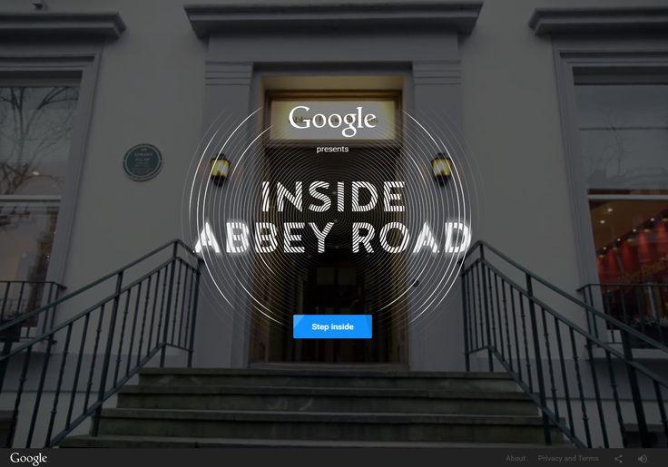 #Google vi porta #InsideAbbeyRoad! Scoprite tutto sullo studio dei #Beatles (e non solo)!