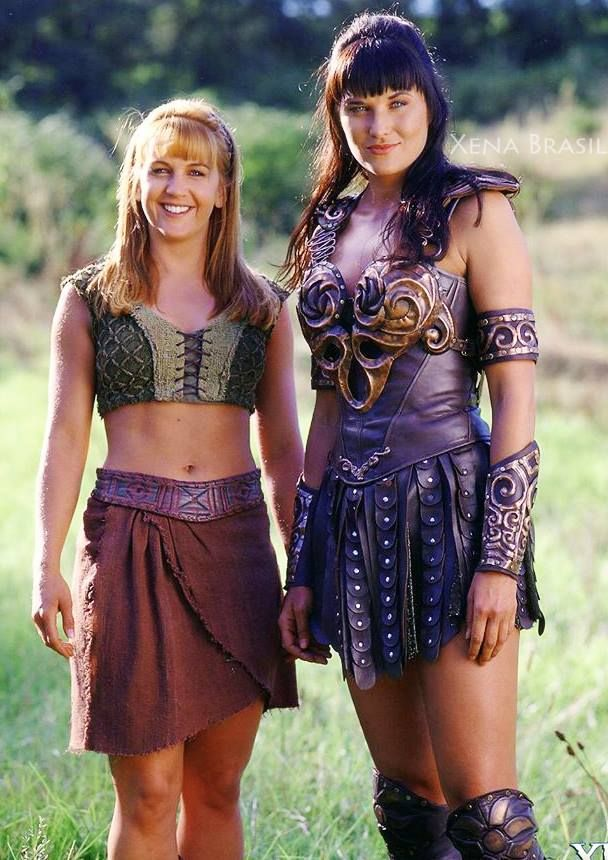 Gabrielle and xena warrior princess can