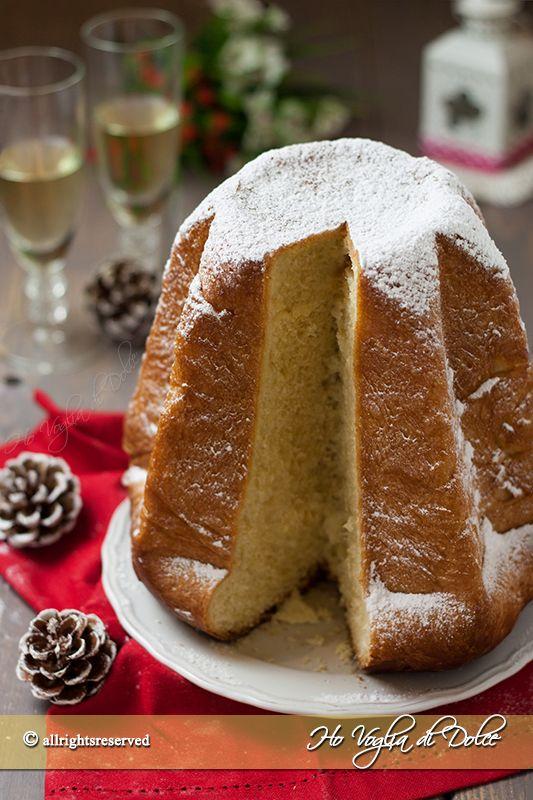 Pandoro sfogliato dolce di Natale - ricetta Ho voglia di dolce blog