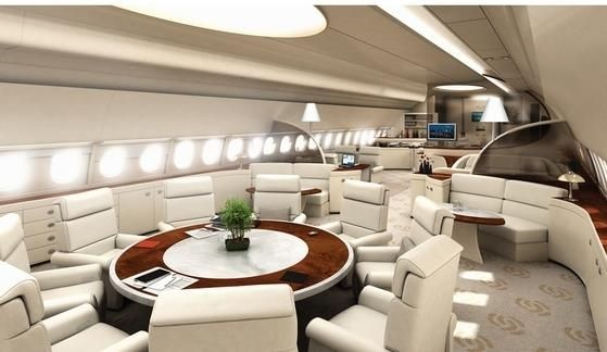 8 airbus a380 vip flying palace 11 luxurious aircrafts for Airbus a380 interior