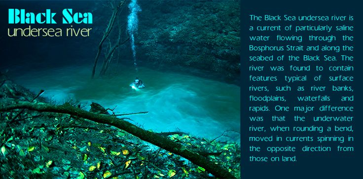 Black Sea #undersea river - #Mexico: The Black #Sea undersea #river is a current of particularly saline #water flowing through the Bosphorus Strait and along the #seabed of the Black Sea. |   Source: en.wikipedia.org/wiki/Black_Sea_undersea_river |   #blacksea #underwaterriver #travel #worldairfares #travelagentuk |   #call now: 0207 927 7557 |   #CheapFlights: https://www.worldairfares.co.uk/