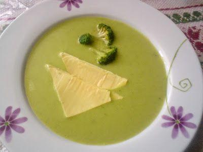 Paprikás krumpli: Brokkoli krémleves