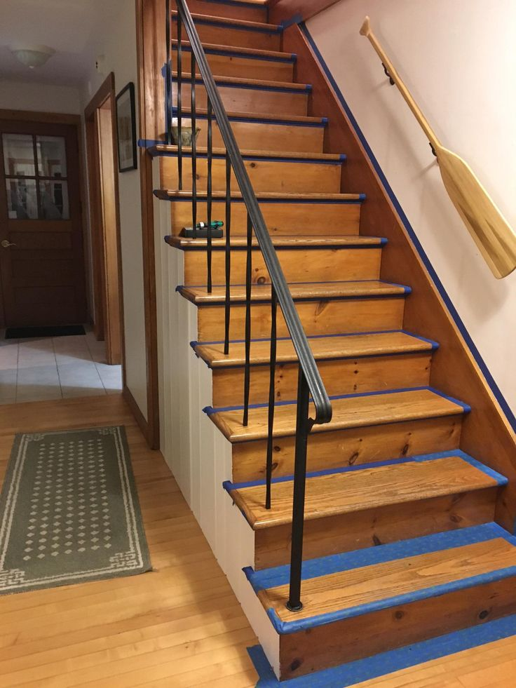 Best 9 Best Painted Stair Risers Images On Pinterest Paint 400 x 300
