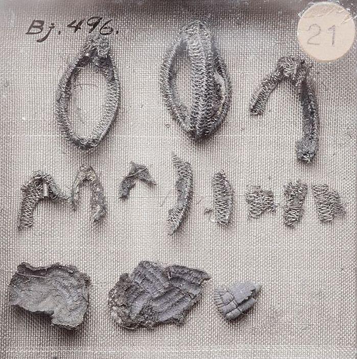 Bj 476 Birka Textile Fragment