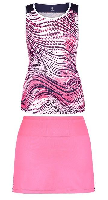 Tail Ladies & Plus Size Tennis Outfits (Tank Top & Skort) - Making Waves  (Shawn/Salome)