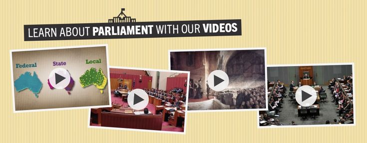 Learn about Parliament with our videos