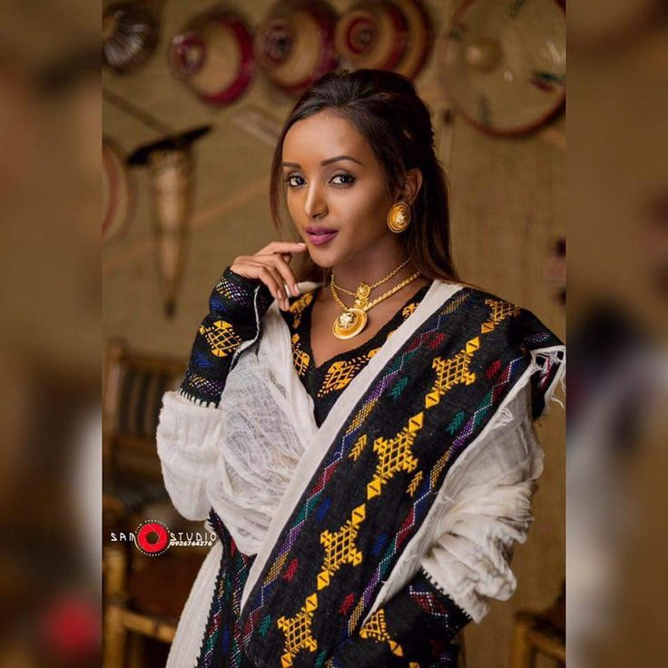 Ethiopian Traditional Clothes Design Pin by Beautiful Ethio...
