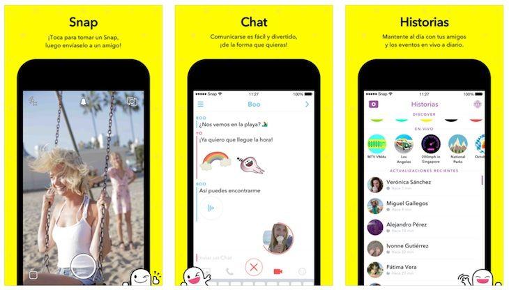 #Redes_Sociales #Internet #snapchat Ya podemos utilizar el cambio de caras de Snapchat desde las fotos del carrete