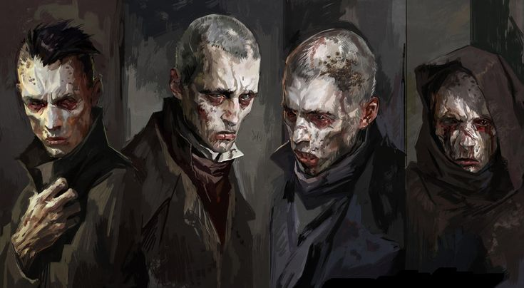 Dishonored Concept Art - Weepers
