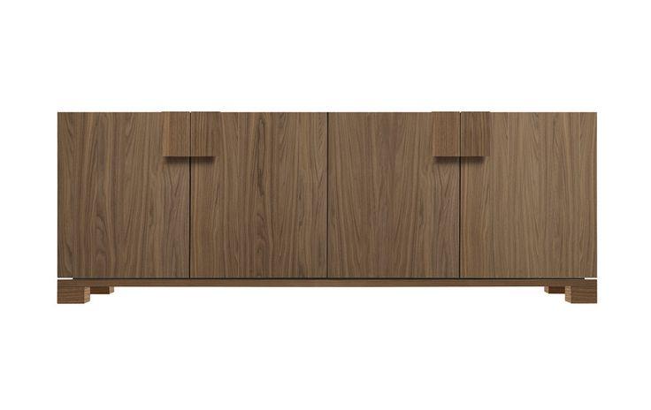 Woody - sideboard   Design: Sergio Brioschi