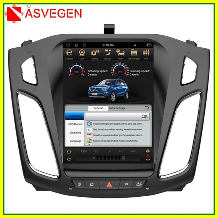 Sale Asvegen Vertical Touch Screen Android 6 0 Quad Core Car Auto Radio Multimedia Player Gps Navigation For Ford Focus 2012 Car Radio Gps Navigation Core Car