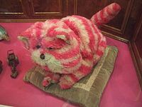 Bagpuss, dear Bagpuss Old Fat Furry Catpuss Wake up and look at this thing that I bring Wake up, be bright, be golden and light Bagpuss, oh hear what I sing